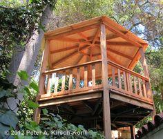 Custom Wood Hexagonal Gazebo - Tarzana, Bradbury, Claremont, CA