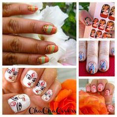 #nail decals #art by Cha Cha Covers! Win 6 sets!