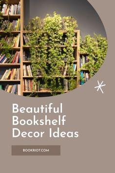Add a little spice to your bookshelves with these decor ideas. book decor | bookshelf decor | decorating bookshelves