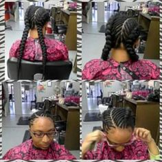 Protective braid styles