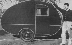 Teardrop trailers were introduced as far back as the 1930s
