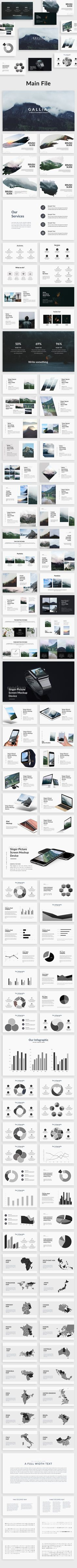 Gallia - Creative Powerpoint Template