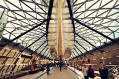 The Cutty Sark Conservation Project by Grimshaw Architects. photo © Ben Webb