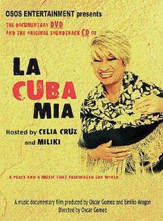 Celia Cruz - La Cuba Mia DVD Cover Art