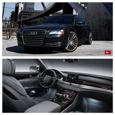 Instagram media lexaniofficial - @audi Audi A8L by @butlertire Tag a friend who would like this. #Lexani #LFWheels #Audi #LZ722