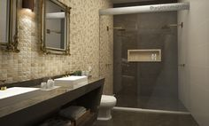 Projeto de banheiro - Arq. Letícia Mugnatto