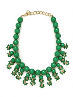 our ariel necklace also comes in green!