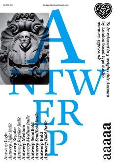 Antwerp – Henrik Kubel / A2-Type / A2/SW/HK | typetoken®
