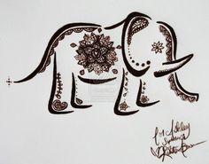 elephant henna - Google Search