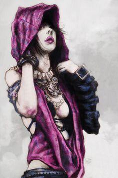 Morrigan ~ Dragon Age ~ morrigan by *tomasoverbai on deviantART
