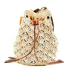 These Crochet Backpacks are all FREE Patterns. You can make them in all sizes from kids to adults and they'll make great homemade gifts too. beach Crochet Backpack Bag Pattern All The Very Best Ideas Crochet Backpack Pattern, Crochet Purse Patterns, Bag Pattern Free, Crochet Beach Bags, Diy Crochet, Crochet Bags, Crochet Ideas, Crochet Summer, Crochet Handbags