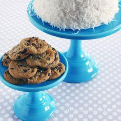 Shop Sweet Lulu - Blue Milk Glass Cake Stands