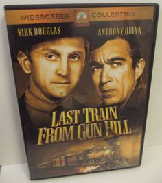 Sold!!  Last #Train From #Gun Hill DVD 2004 #Western #Paramount Widescreen Edition
