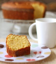 Bolo de Farinha de Milho ~ PANELATERAPIA - Blog de Culinária, Gastronomia e Receitas