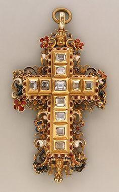 Cross, 1575-1600, Southern Germany.