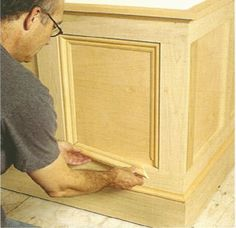 Installing flat-panel wainscoting.  http://ehowdiy.com/installing_flat-panel_wainscoting_1.htm