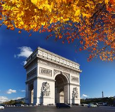 Arco do Triunfo, em Paris.