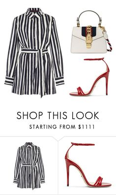 Untitled #1967 by rosechicgeorgia on Polyvore featuring moda, Martin Grant and Gucci