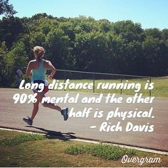 long distance running quote