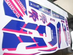 YAMAHA WR 200 1992, KIT FULL decals !!!stickers, GRAPHICS! #fan