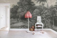 Hei,+katso+tätä+Rebel+Wallsin+tapettia,+Jungle+Land,+Vintage!+#rebelwalls+#Tapetti+#Kuvatapetit