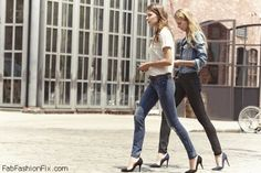 Spring street style inspiration with pointed heels