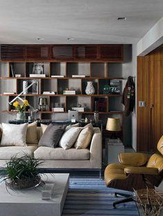 Contemporary design aesthetic in Brazil: Real Parque Loft