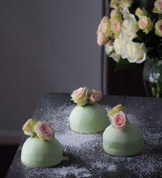 Recipe for mini Swedish princess cakes.
