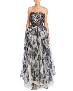 Spotted this Marchesa Notte Silk Gown on Rue La La. Shop (quickly!).