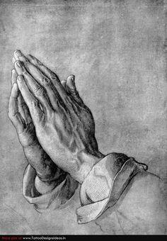 praying hands tattoo designs   Tatto design of Praying Hands Tattoos praying hands ...