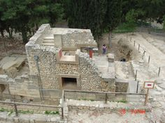 Archealogical Ruins being restored.