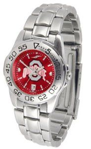 Ohio State Sport Anonized Women's Steel Band Watch SunTime. $57.79
