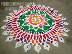 The World's Best Photos of festival and rangoli Sanskar Bharti Rangoli Designs, Rangoli Designs Diwali, Diwali Rangoli, Latest Rangoli, Indian Rangoli, Sand Painting, Simple Rangoli, Festival Lights, World Best Photos