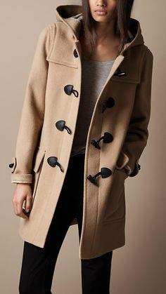 I need this!! - Wool Duffle Coat | Burberry