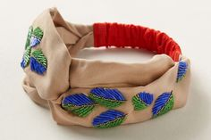 Beaded Palm Turban | 40 Hair Accessories You Can Buy or DIY