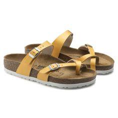 Mayari Birkenstock Yellow Sandals