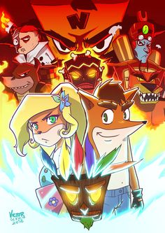 Fanart - Crash Bandicoot: por Team Banquition