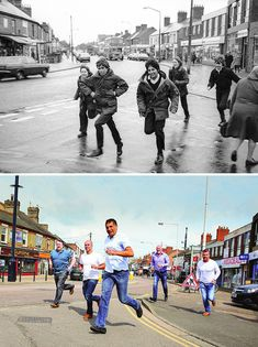 In the 1970s, 80s, and 90s, street photographer Chris Porsz spent hours walking around the city of Peterborough, Cambridgeshire (Great Britain), capturing hundreds of amazing characters. Now, almost 40 years later, Porsz has tracked down those same people to recreate their pics, resulting in 135 beautiful reunions.      Often recreating the pics in the same locations, Porsz captured everyone from policemen to punks to lovers to siblings. He has gathered all the pics together and put them in…