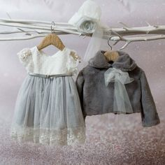 Winter Outfits, Winter Clothes, Little Darlings, Baby Wearing, Christening, Organic Cotton, Kids Fashion, Flower Girl Dresses, Wedding Dresses