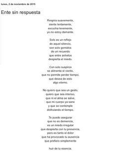Ente sin respuesta por Diana García Botero
