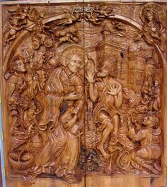 Chainsaw Carving Arts and Door Carvings by J. Chester Armstrong