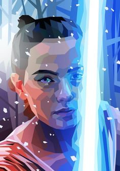 As a fan I undertook the challenge to complete one Star Wars portrait every week until The Force Awakens was released, a full year from the time of starting. That's fifty-two characters (plus a few more - fifty-six if you include the April F. Star Wars Jedi, Rey Star Wars, Star Wars Fan Art, Images Star Wars, Sabre Laser, Anniversaire Star Wars, Cuadros Star Wars, Star Wars Painting, Films Cinema