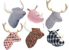 patrones cabezas de ciervo - Buscar con Google me  encanta esto para el salón de mamen en colores que combinen con los textiles del salón,  fíjate que hay una de toro