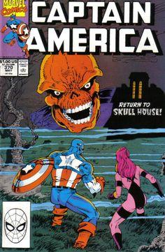 Captain America # 370 by Ron Lim & Danny Bulanadi