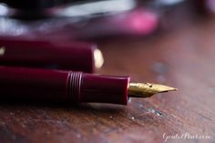 Goulet Pens Blog: And the color of the year is... Marsala!