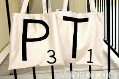 Simple Scrabble Bags (5 Easy Steps!)