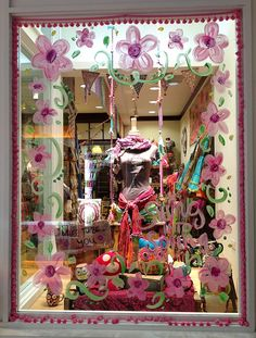 spring window displays - Google Search