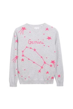 EXCLUSIVE Gemini Cashmere Sweater