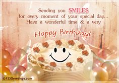 Birthday Greetings Words | Birthday Wishes | Birthday Pictures Collections