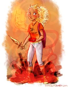 "dellbelle39: ""(late) Annabeth (for BoO countdown) """